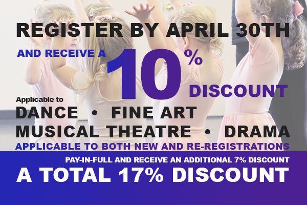 The Oakville Academy for the Arts Dance Music Art Musical Theatre Drama Discount Deal